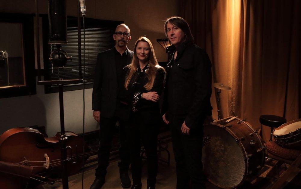 Creators (l-r) Duke Erikson, Allison McGourty, and Bernard MacMahon