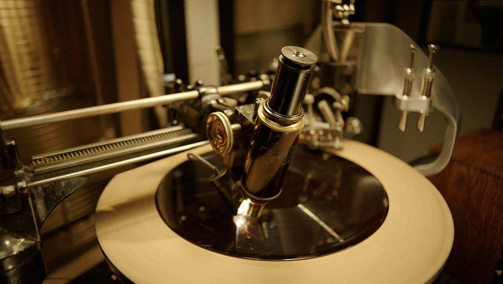 Lathe Microscope