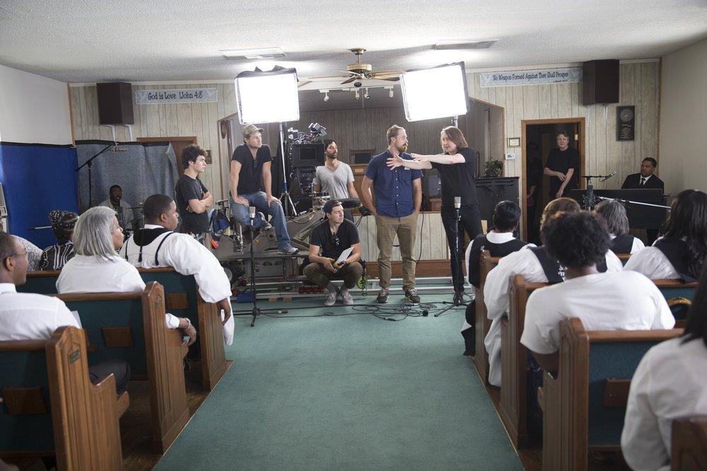 Filming the Triumph Church Choir - Cheraw, SC
