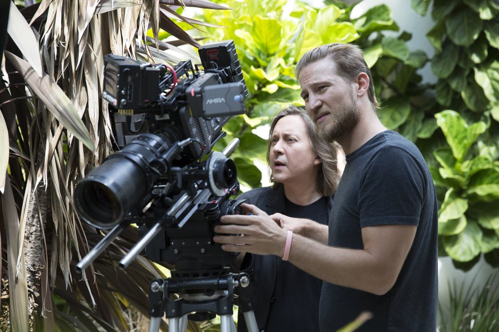 Filming in Hawaii