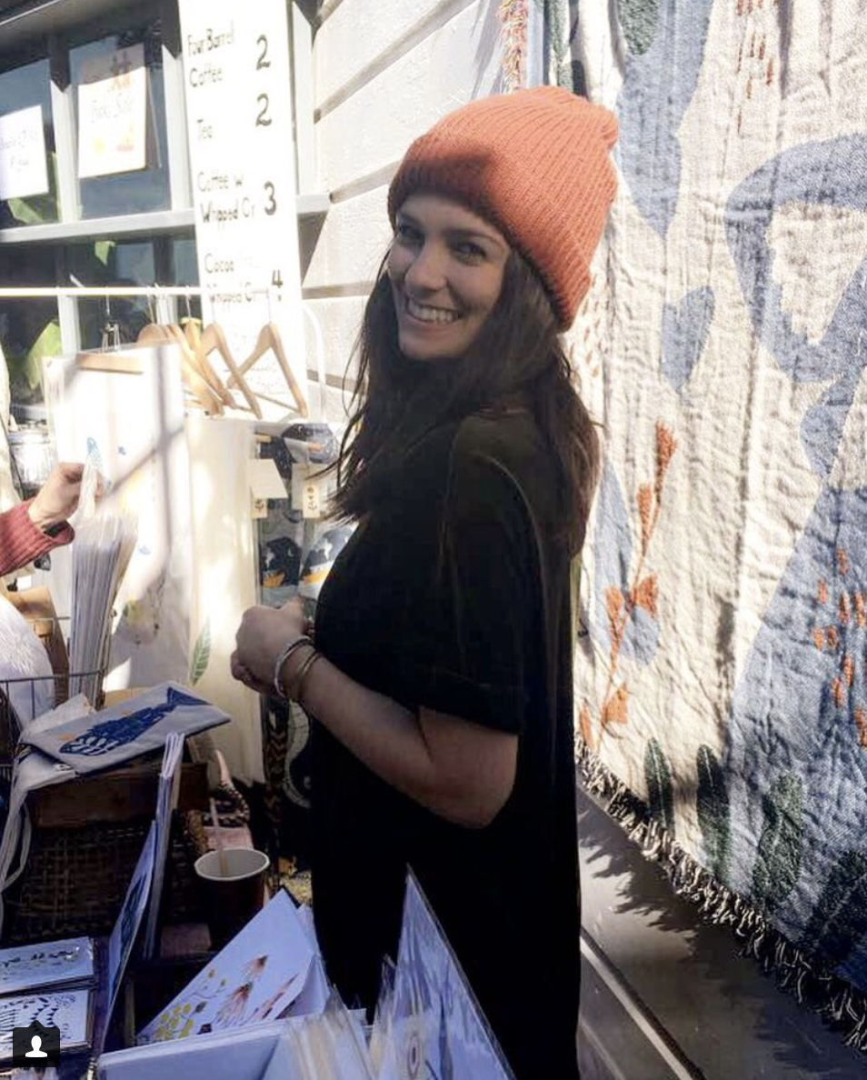 Elana at market. Via  @elanagabrielle