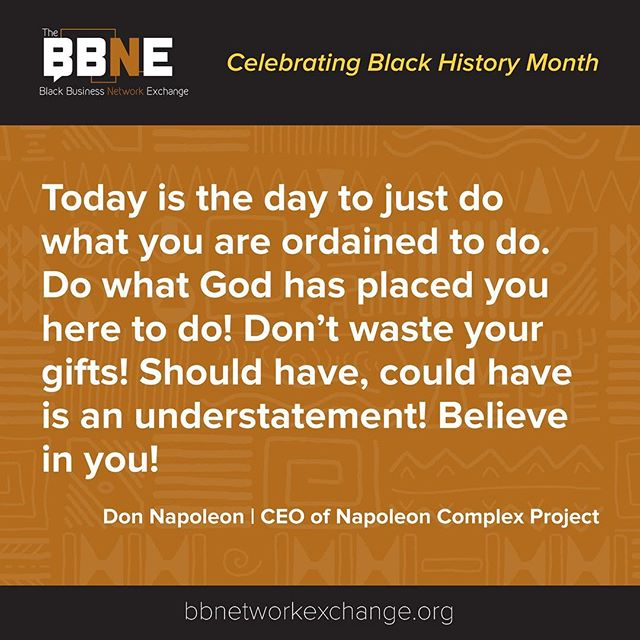 @don_napoleon_ncp #bbne #blackowned #business #entreprenuers #online #marketing #network #networth #blackculture #fortheculture #producer #photographer #bhm #blackhistorymonth