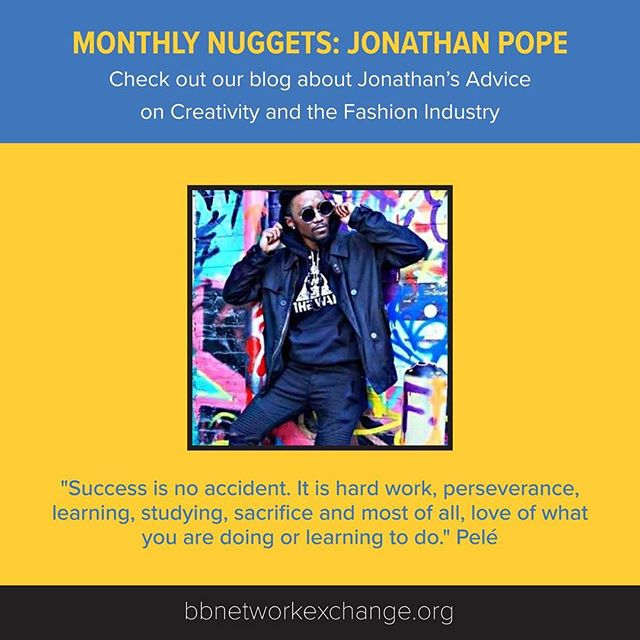 Check out our new #MonthlyNuggets blog, which features advice about creativity and the fashion industry from Unique Creations Apparel Owner, Jonathan Pope @uqcapparel