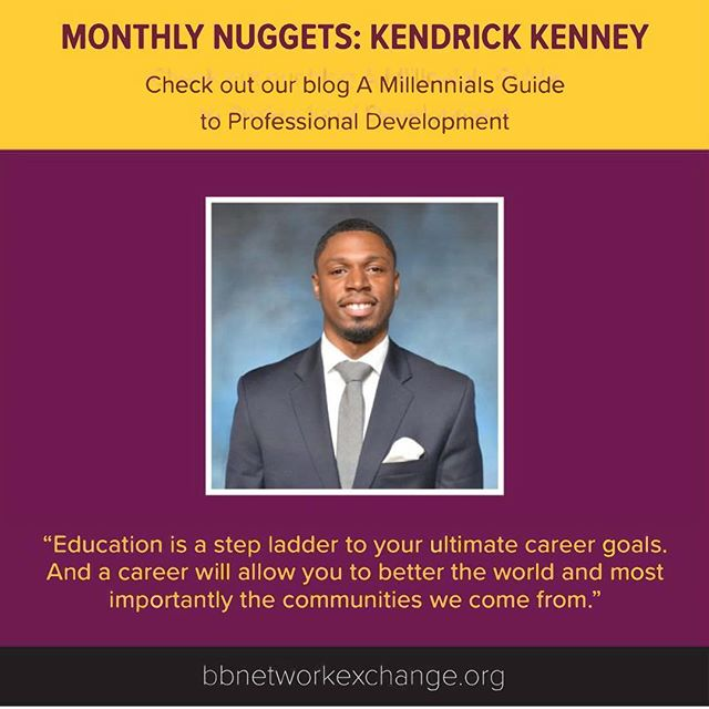 "We're closing out the month of June with a 'Monthly Nugget' from Professor Kendrick Kenney on professional development for millennials. Read ""A Millennials Guide to Professional Development"" on bbnetworkexchange.org (link in bio)"