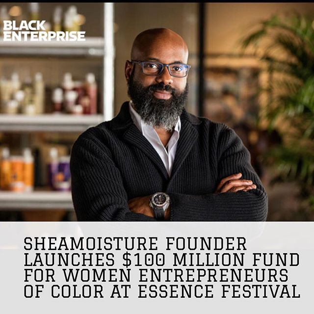 "#Repost @blackenterprise ・・・ On Thursday, SheaMoisture haircare and skincare products founder Richelieu Dennis announced a $100 million fund for women entrepreneurs of color at the 2018 Essence Festival. The announcement surrounds the New Voices Fund that he's been prepping for the past year. . . . . . ""About six months ago, we announced that we were launching the new voices fund,"" Dennis told the audience at the press conference during the Essence Festival. ""I'm proud to say that we get to officially launch the $100 million New Voices Fund for women of color entrepreneurs here at Essence Festival this weekend. Over the past six months, we have already either invested in or committed to, over $30 million in black women entrepreneurs."" . . . .  As reported previously, Dennis sold SheaMoisture to Unilever in 2017. As part of the deal, he vowed to use the capital to create an investment fund for minority entrepreneurs, specifically women of color. Unilever and Sundial Brands, creators of SheaMoisture, agreed to contribute an initial investment of $50 million to the fund. #essence #essencefestival2018 #essencefestival"