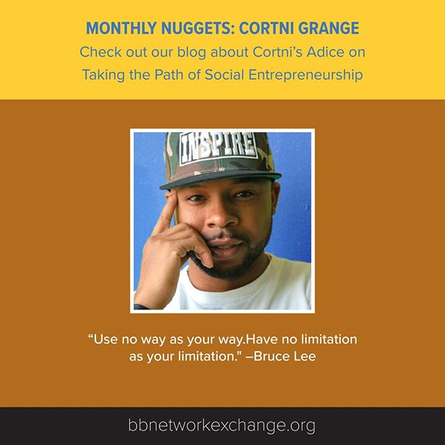 Check out our new Monthly Nugget blog post! We are featuring advice on taking the path of social entrepreneurship from Cortni Grange. Read on: https://buff.ly/2NgnnT9