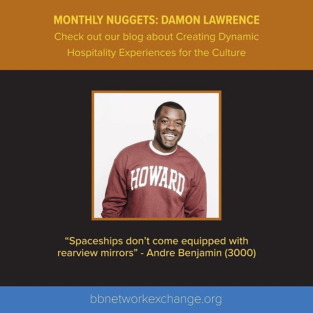Check out our new Monthly #Nuggets Blog, which features advice on creating dynamic hospitality experiences for the culture from @stayhomage Co-Founder, Damon Lawrence @hauspitality  #hospitality #tourism #business