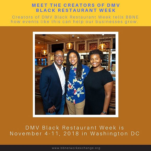 Creators of @dmvbrw envision a dynamic building opportunity for black restaurant owners--making this week long event about solidarity and good food! Read more on our website [Click🔗 in bio]