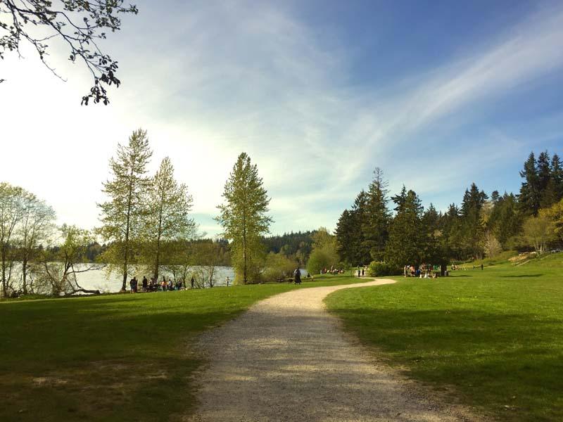 Lake Padden Park.