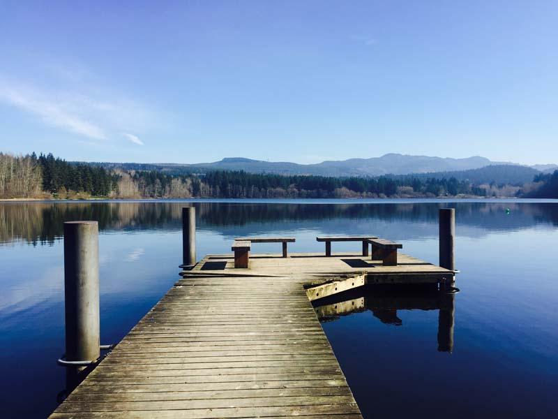 Lake Padden.