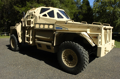 Ultra APV was an ONR-funded project to develop a concept vehicle that illustrated design and technology options for increased survivability in future vehicles.