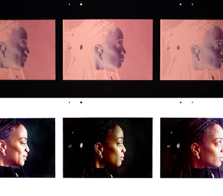 Turning a color negative into a print takes a little bit more time.