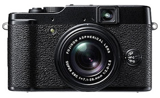 Front view of the Fuji X10 camera. Photo courtesy of Fujifilm.com