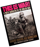 The cover of This is War by David Douglas Duncan