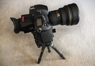 Nikon D3S with a Zacuto Z-1 Pro on a Gitzo Serires 00 carbon tripod