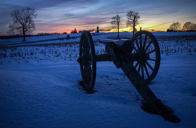 Site of the Battle of the Wheatfield at Gettysburg, Pa. Nikon D1H, 1/16 @ f16.