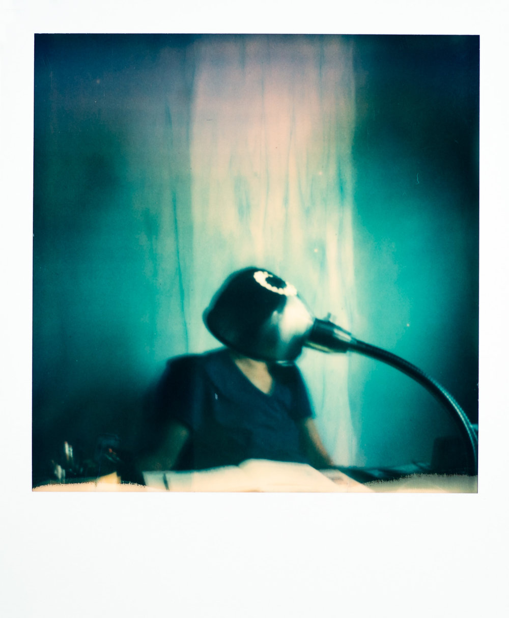This is the first photo taken with my grandparent's SX-70 in over 35 years.