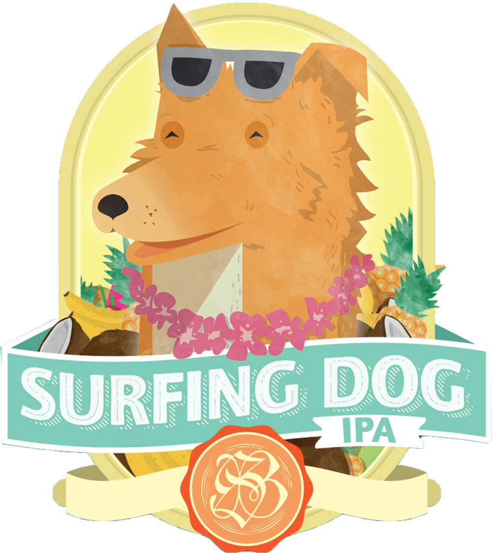 surfing dog ipa