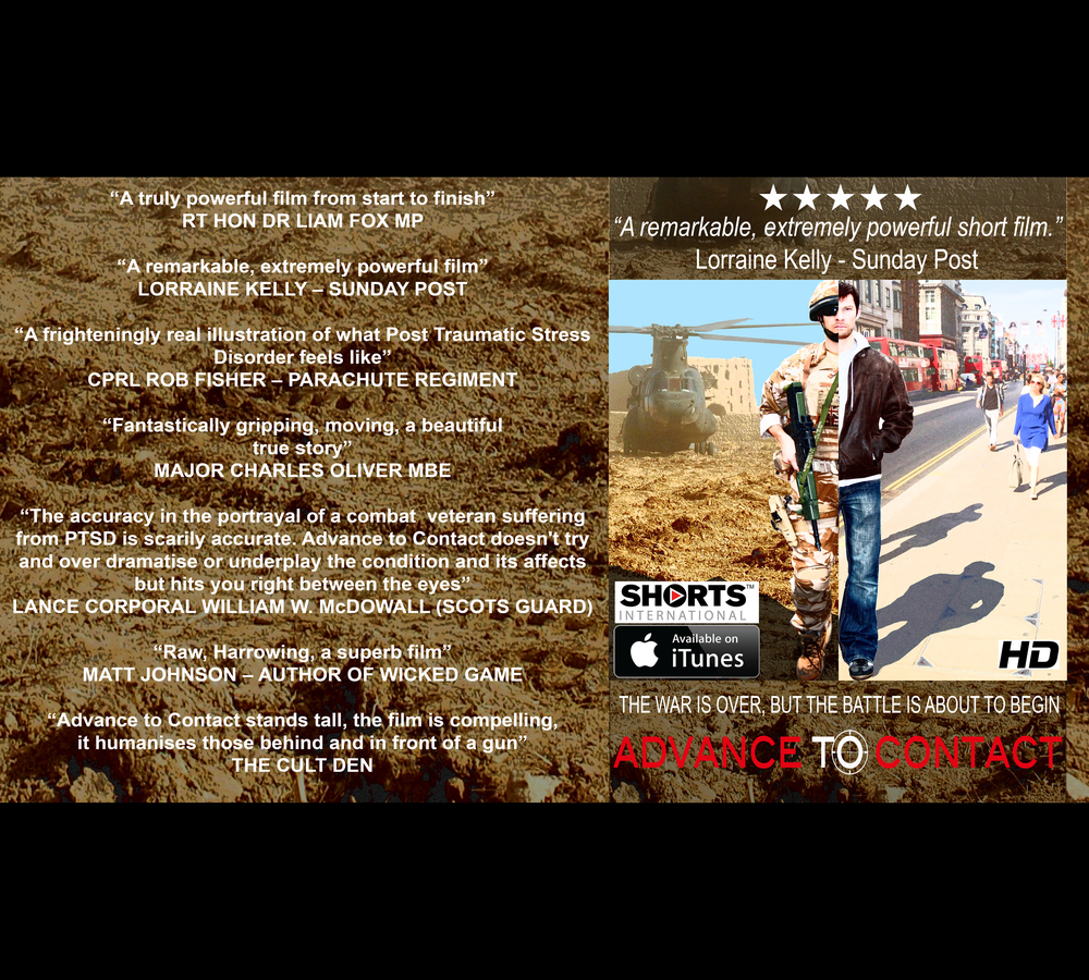 ADVANCE TO CONTACT THE FILM • WRITTEN, DIRECTED & PRODUCED BY SCOTT VICKERS • AVAILABLE ON iTUNES