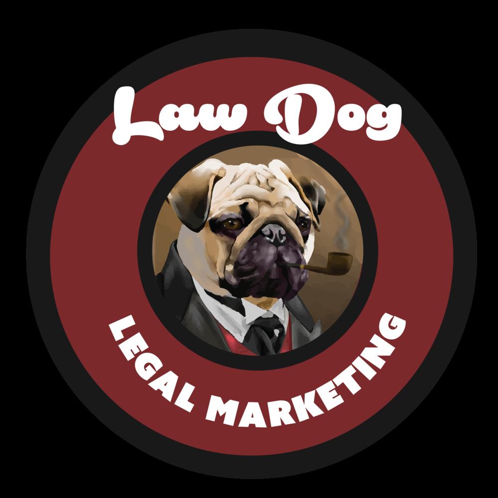 Law Dog Legal Marketing Logo
