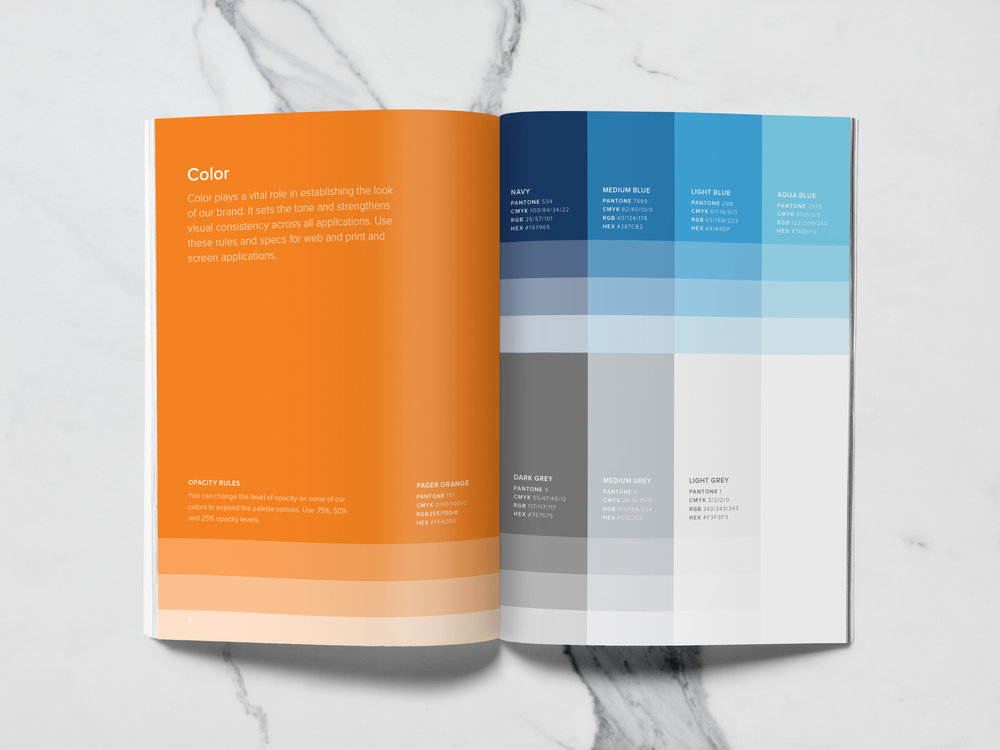 Color styleguide