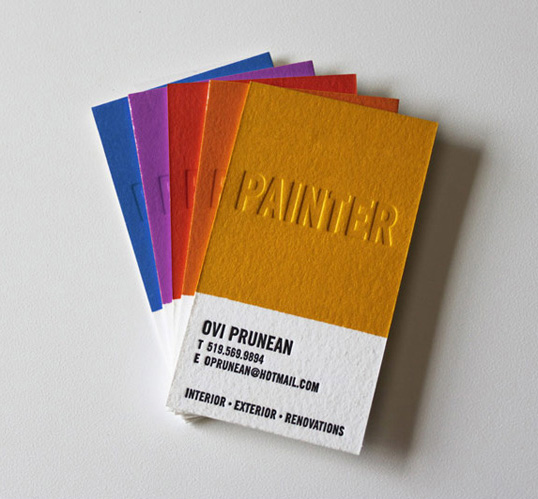 Good design prunean business cards courtney khail watercolors ovi reheart Gallery