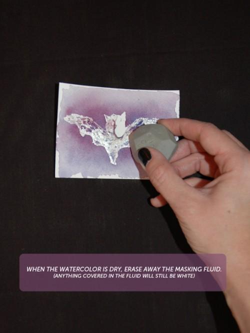 Halloween DIY bat place card via courtney khail
