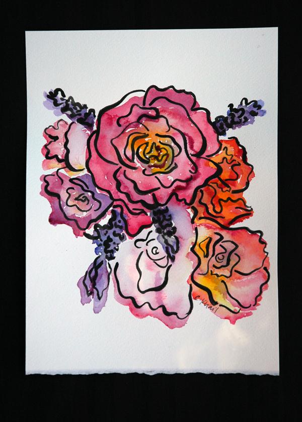 bouquet for Mel via courtney khail