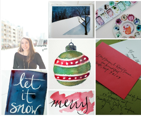 Watercolor Greetings with Courtney Khail