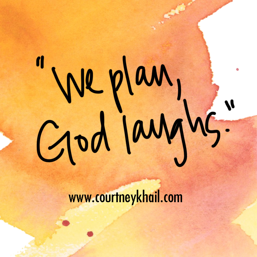 we plan god laughs | courtney khail | atlanta artist