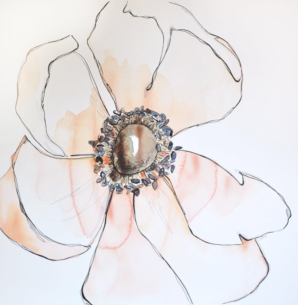 Courtney Khail | Calliope | Atlanta watercolor artist