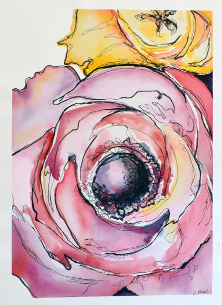 Courtney Khail | Tonight | Atlanta Watercolor Artist