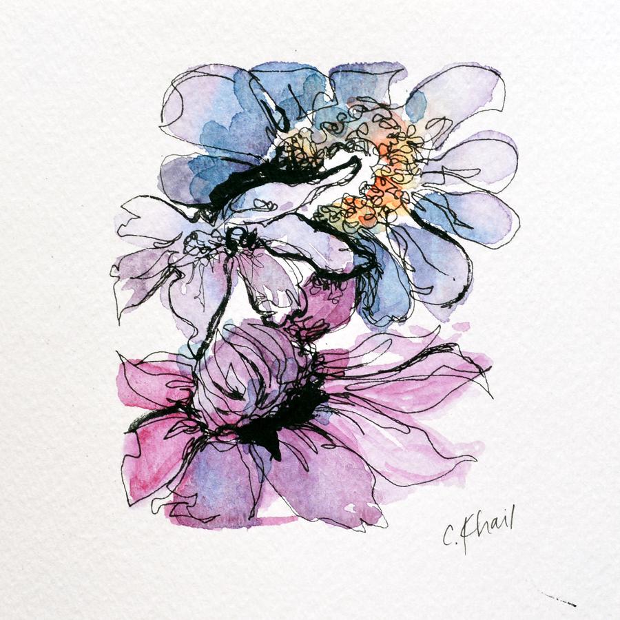 Botanical Study #3 (Anemone and Daisy) web.jpg
