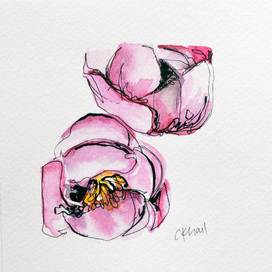 Botanical Study #6 (Purple Tulip) web.jpg