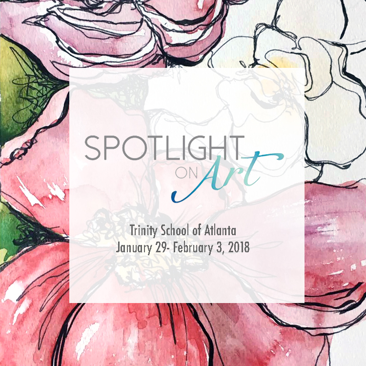 Spotlight on Art - Jan 29- Feb 3, 2018Trinity School of AtlantaCourtney Khail's contemporary watercolors will be on display and for sale at this year's Spotlight on Art.Since 1982, Spotlight on Art has introduced art lovers to new works by some of the Southeast's greatest established and emerging artists. For more information on the market (including hours and directions) please visit http://spotlightonart.com/