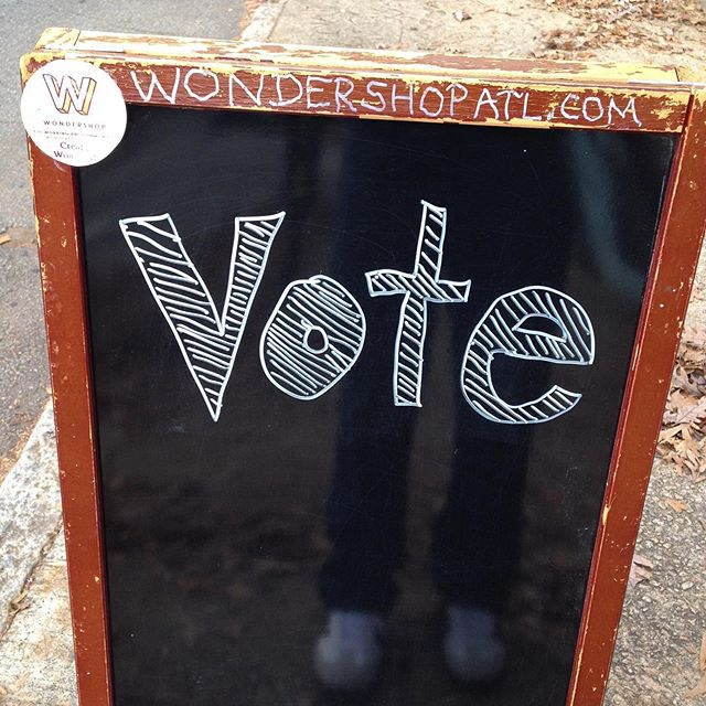 Yep you can vote still. Runoff today for just 2 Georgia seats but they are big ones! #votega
