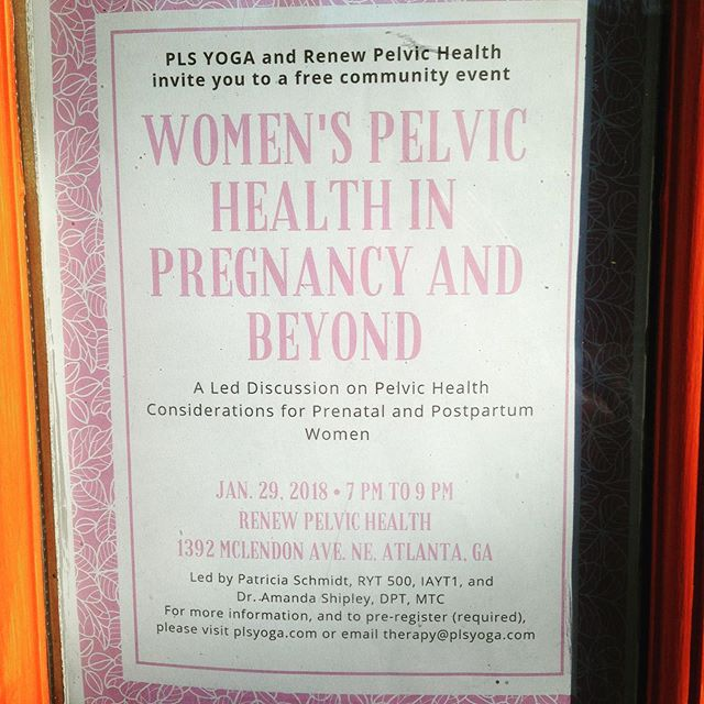 January 29! RSVP today. Www.renewpelvichealth.com