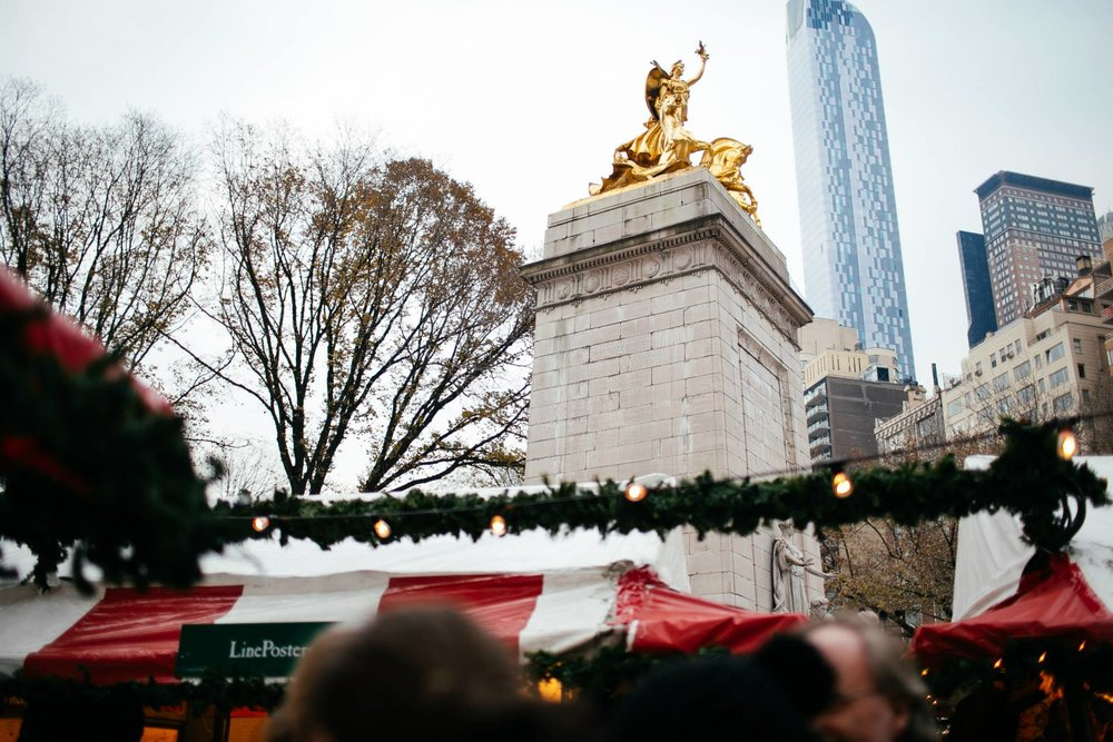 Union Square Columbus Circle Holiday Markets