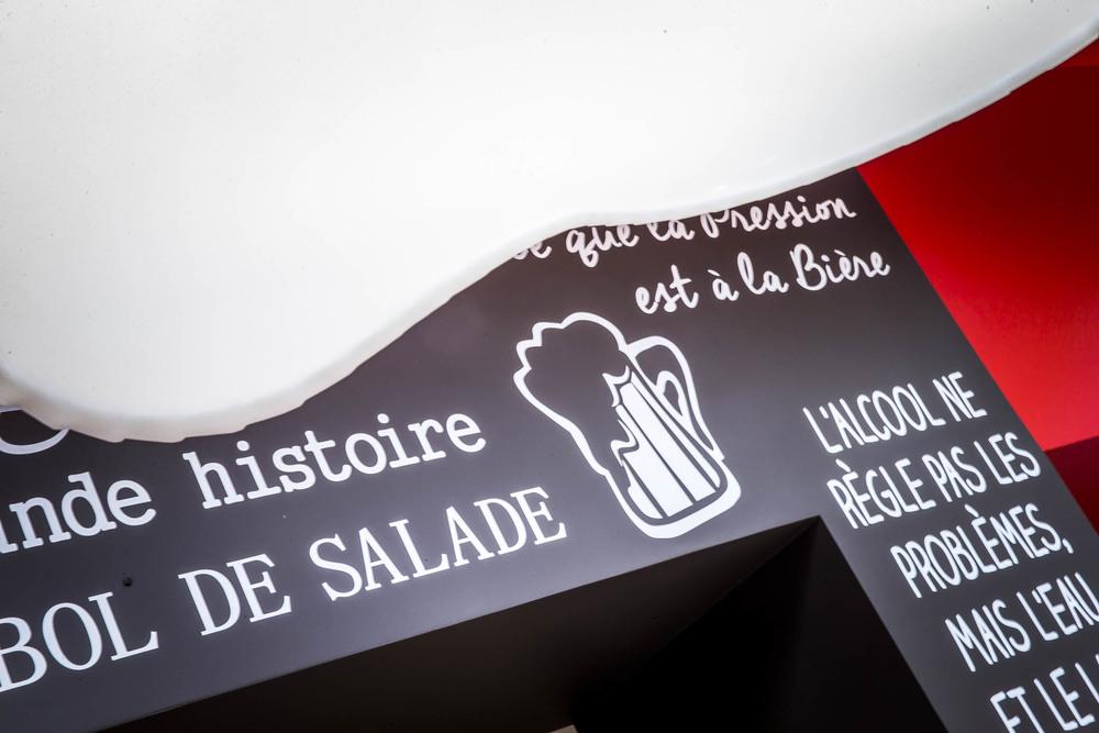 Le bar brasserie Café le Pirate à Granville