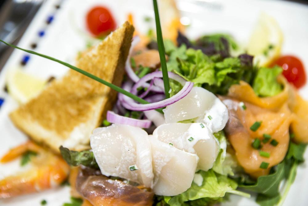 Salade de la mer du Café le Pirate Granville