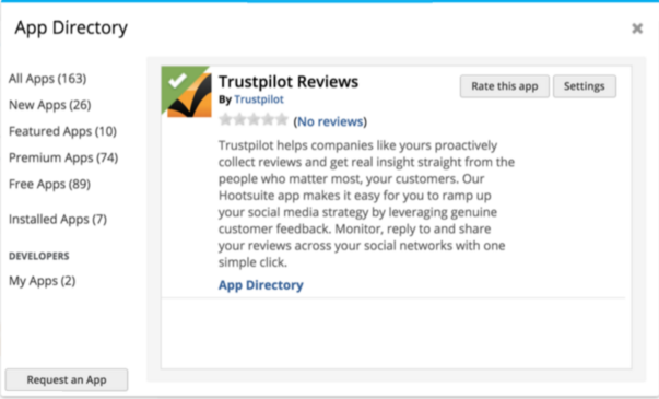 Image de Hootsuite App Directory
