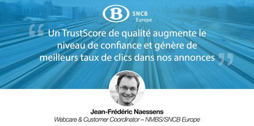 Découvrez comment SNCB Europe a intégré Trustpilot de A à Z dans son organisation