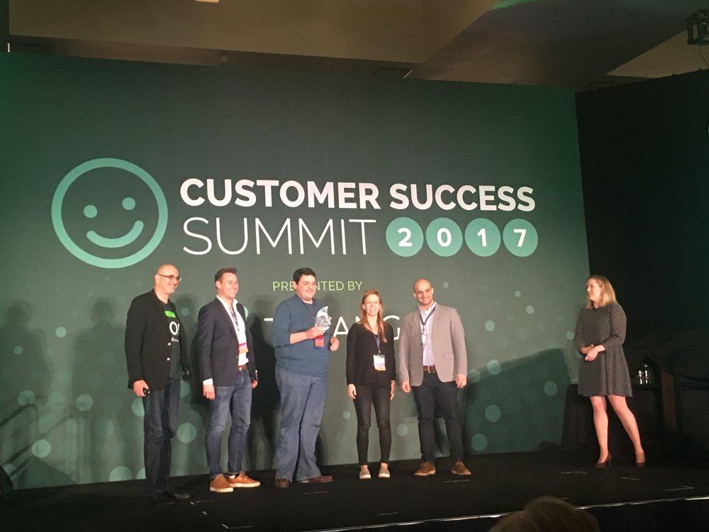 trustpilot gagnant customer success summit 2017
