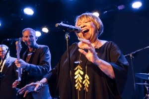 Mavis Staples performing live