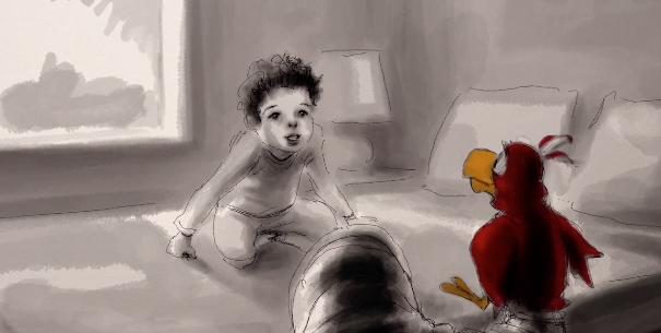 Owen Suskind - Animator and the inspirational subject of LIFE, ANIMATED
