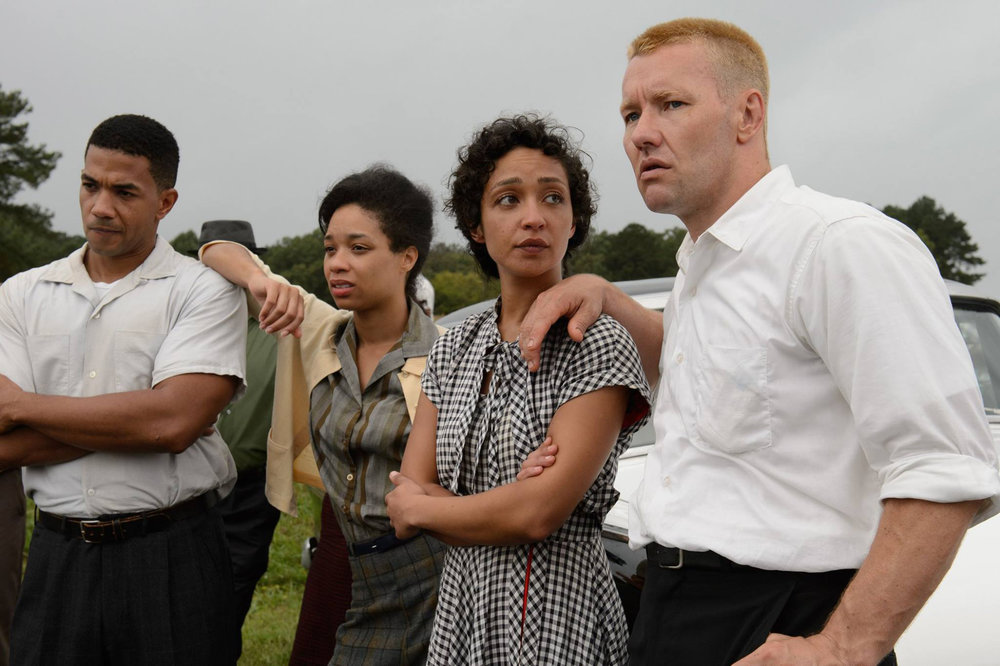 Joel Edgerton and Ruth Negga in Loving, directed by Jeff Nichols