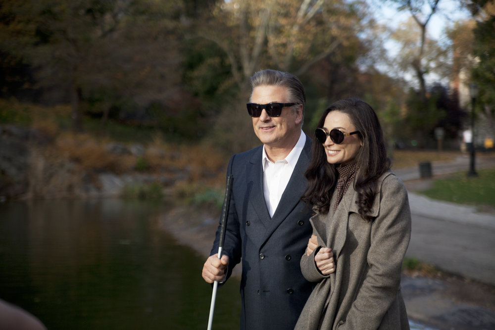 Alec Baldwin & Demi Moore in the Opening Night film, Blind. Directed by Michael Mailer.