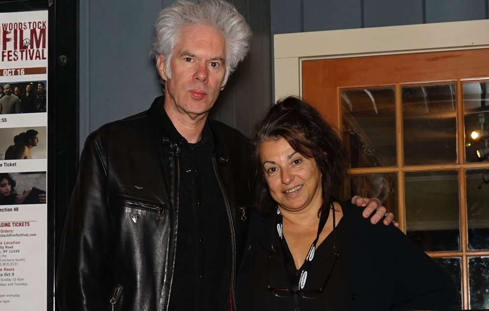 Jim Jarmusch (with Annie Nocenti) introduced and followed the screening of Gimme Danger with a Q&A. Photo by Vincent Boucher