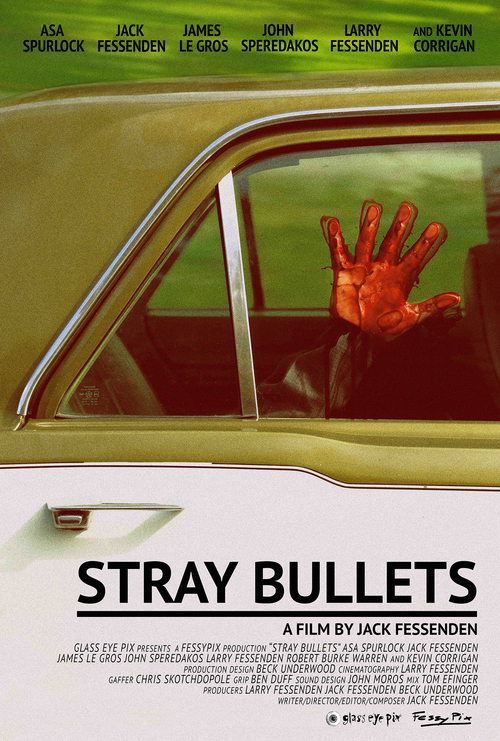 STRAY BULLETS  poster by  Jack Fessenden