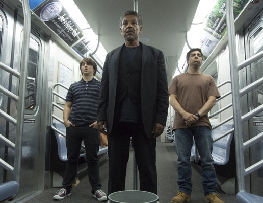 Gerard Canonico, Giancarlo Esposito and Omar Chaparro, in Stuck, directed by Michael Berry